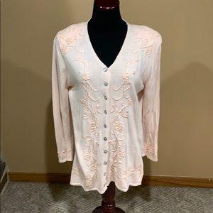 Worthington Pink Sweater